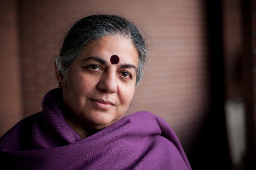 vandana shiva Vandana shiva green as climate change threatens food supplies, seed  saving is an ancient act of resilience by sarah van gelder, contributor.